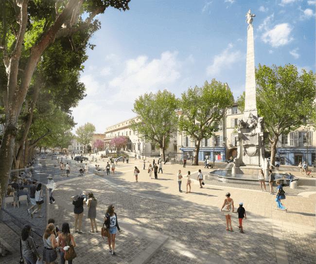 Place des Precheurs – Aix en Provence