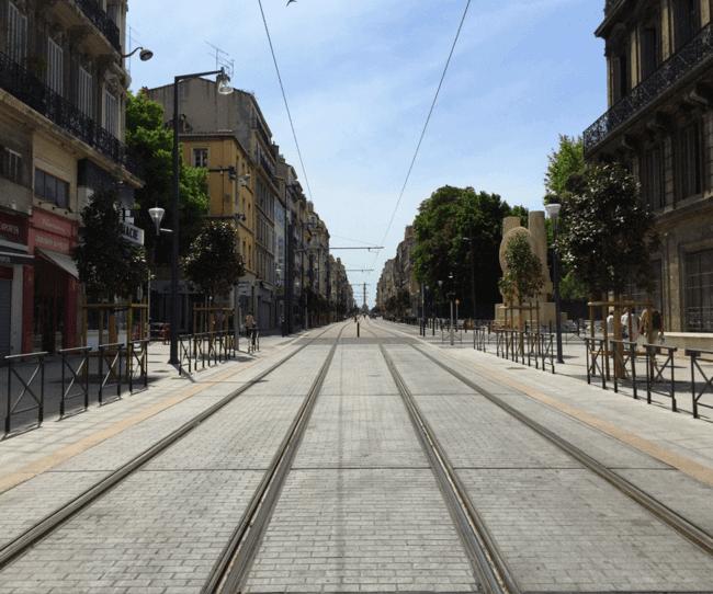 Tramway – Rue de Rome – Marseille